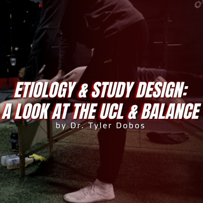The Importance of Understanding Etiology and Study Design: A Look at the UCL and Balance